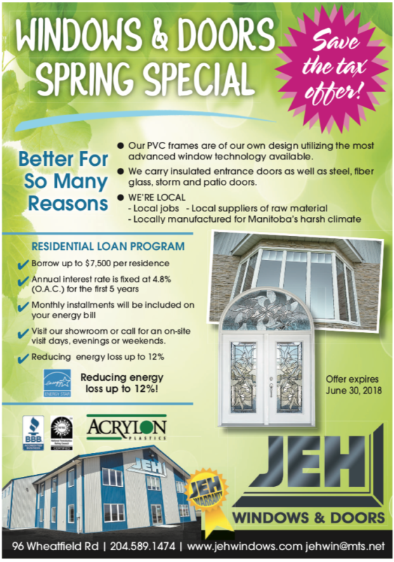 SAVE THE TAX – Spring Special